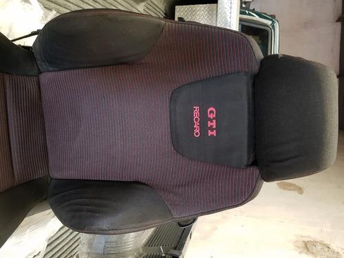 asientos recaro gti delanteros  y trasero