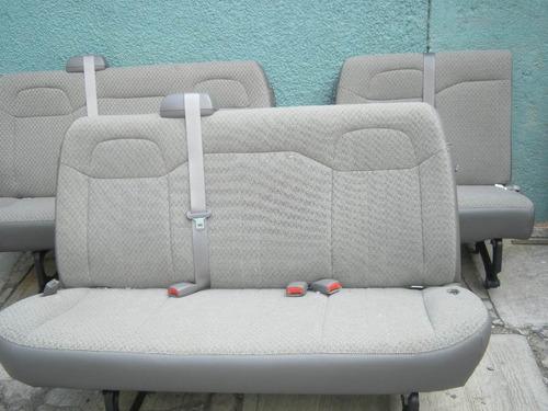 asientos y bancas para camionetas  express van