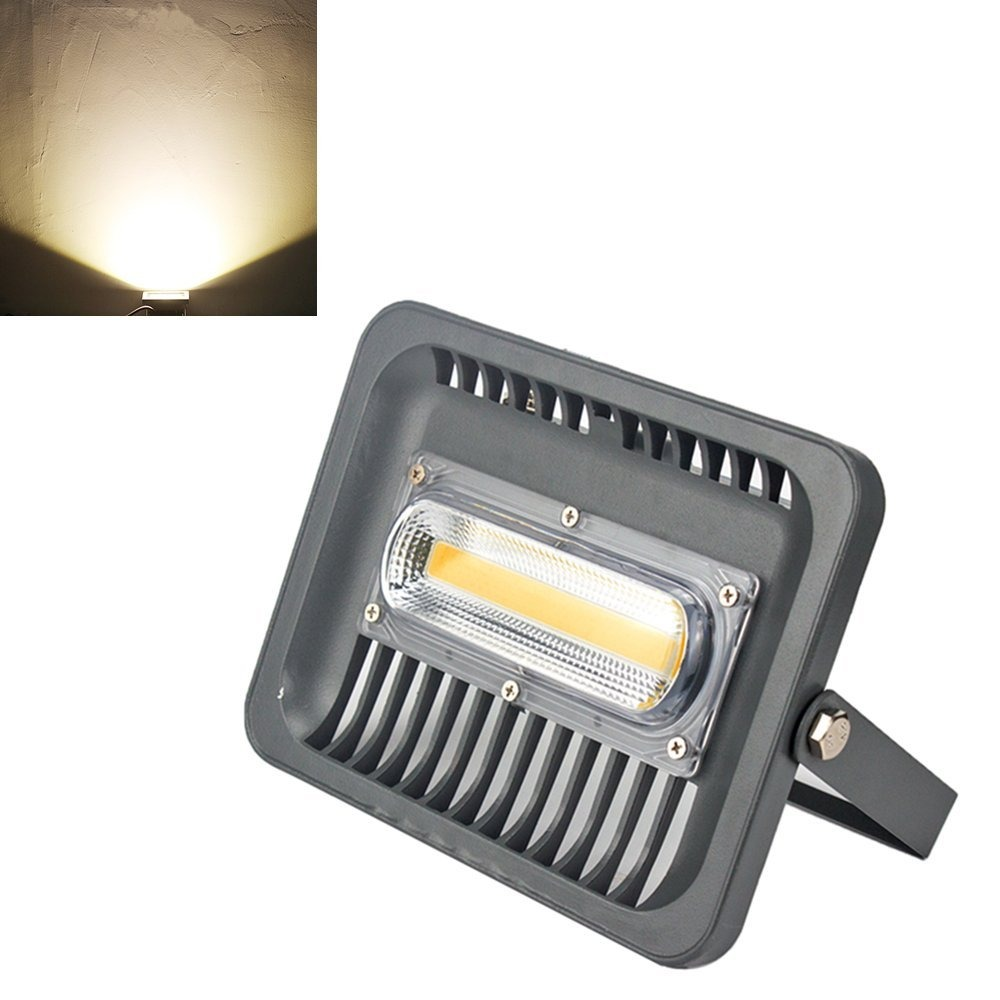 Asign 50w led cob outdoor flood lights waterproof security flood lights waterproof security cargando zoom aloadofball Image collections