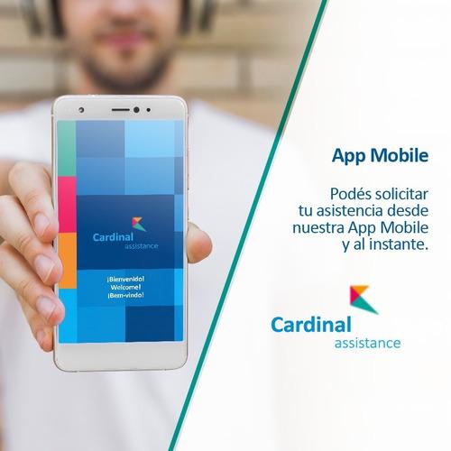 asistencia en viaje cardinal assistance. europa y mundial
