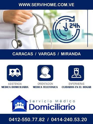 asistencia medica domiciliaria -  medico a domicilio