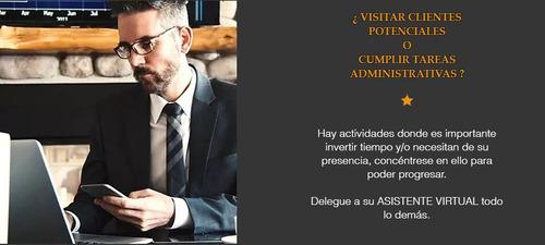 asistente para apoyo administrativo / secretaria virtual