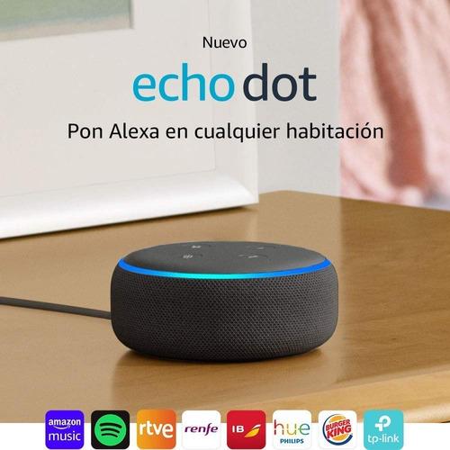 asistente virtual echo dot (3nd generation)  alexa ecodot