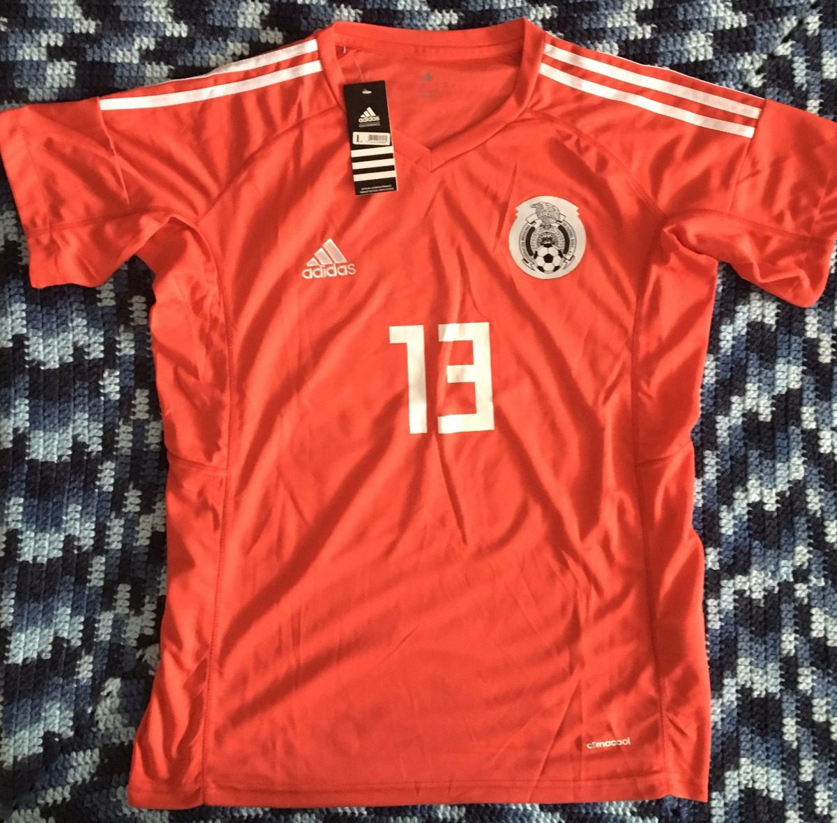 9584e5375c072 asombroso jersey mexico portero rojo guillermo ochoa 13. Cargando zoom.