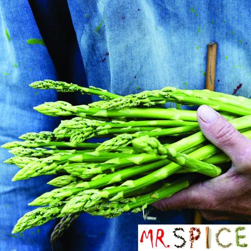 aspargos verde próprio para mudas e vasos 50 sementes