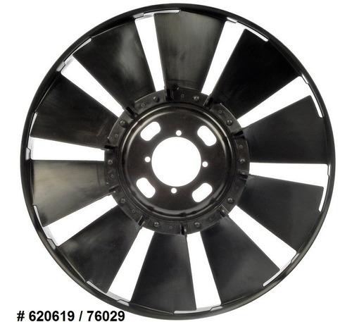aspas de ventilador chevrolet trailblazer 2002 - 2009
