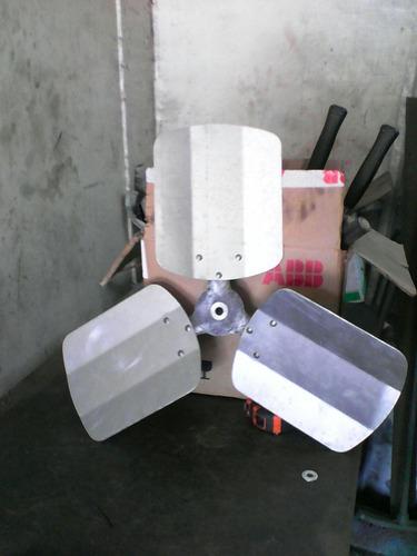 aspas para ventilacion industrial de 18 pulgadas 3,4,5 palas