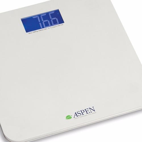 aspen eks 8818 vi balanza personal digital de baño 180kg max