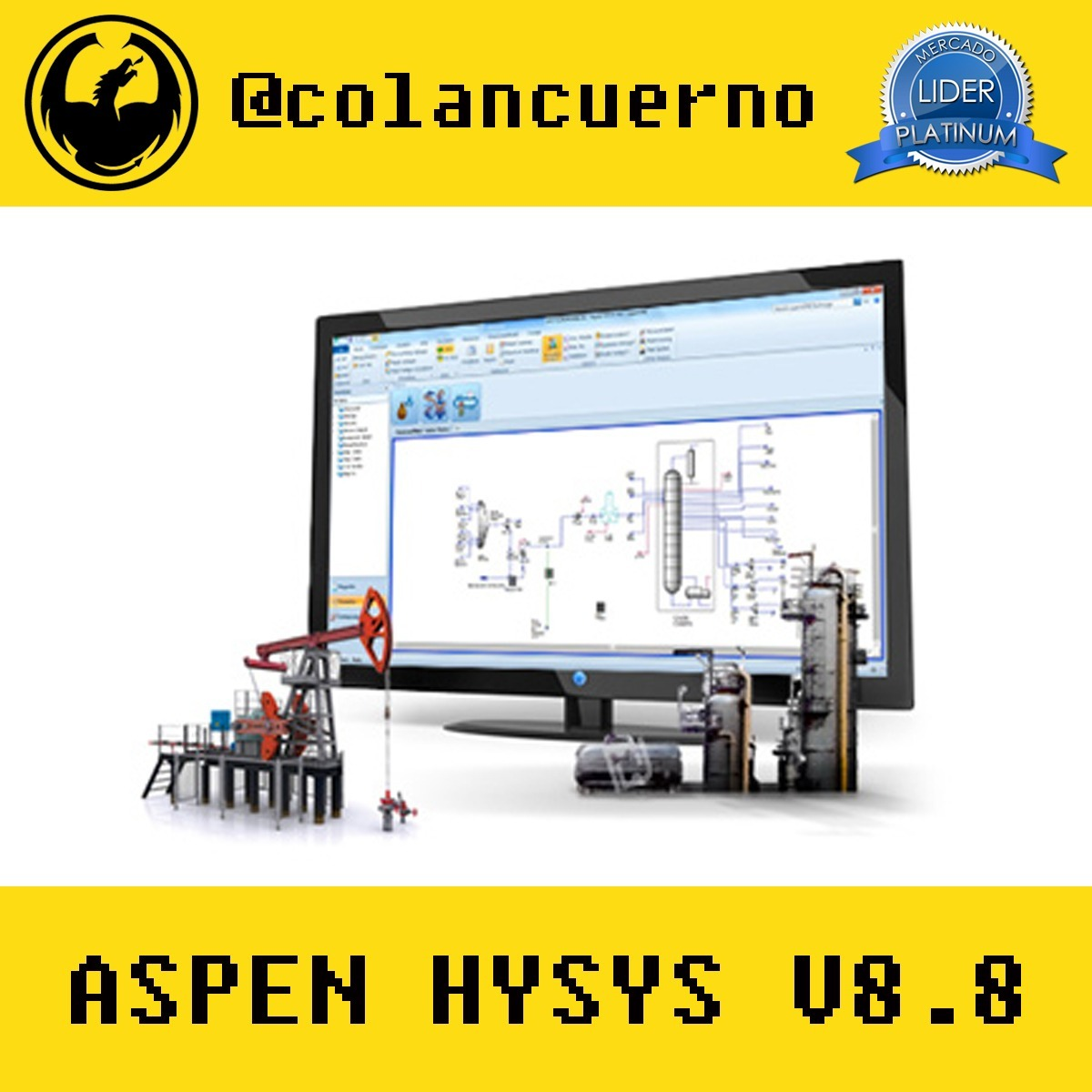 Hysys V8 Manual Deere 4440 Tractor Wiring Diagram On 2003 Kia Sorento Parts Array Aspen 8 De Uso Bs 8995 En Mercado Libre Rh Articulo