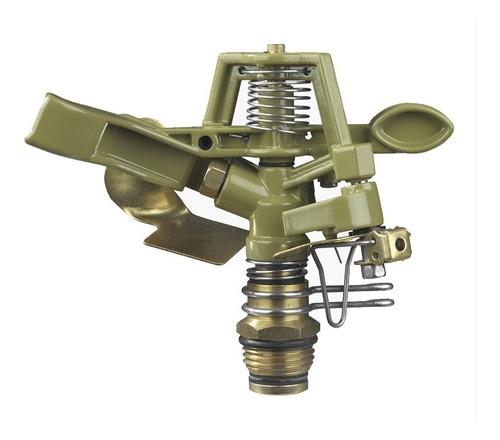 aspersor riego impulso metal bronce 1/2 h2622 aquaflex
