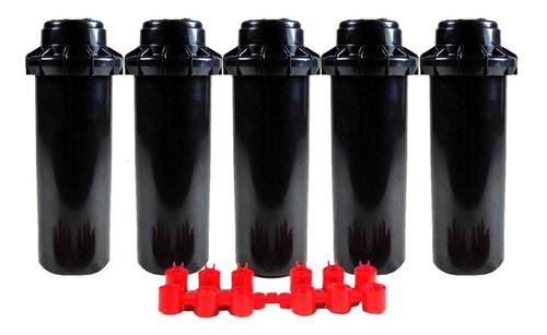 aspersor riego radio ajustable de 5 a 14 m pack x 5