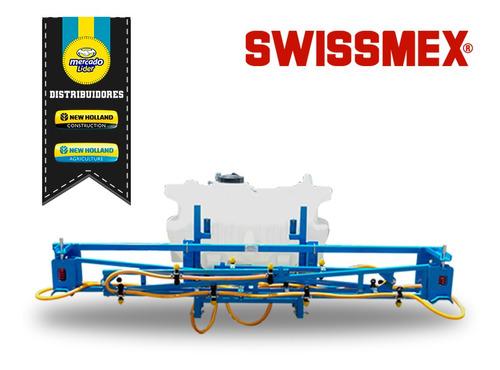 aspersora agrícola para tractor 230 lt 16 boquillas swissmex