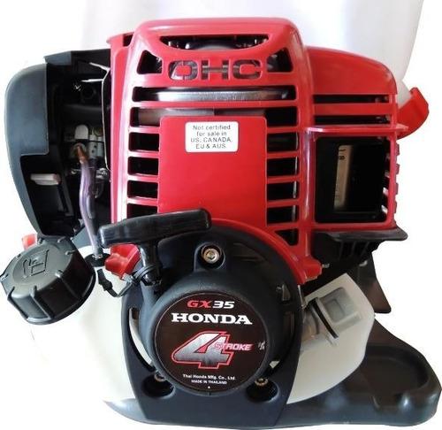 aspersora fumigadora motor honda shiraiwa gx35 pwc-3525
