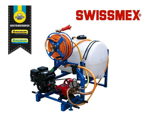 aspersora swissmex motorizada agrícola portátil de precisión