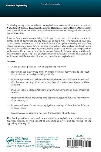 asphaltenes: transformación química durante el