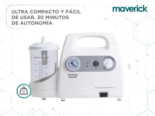 aspirador a diafragma secrecion 7e-g maverick bateria