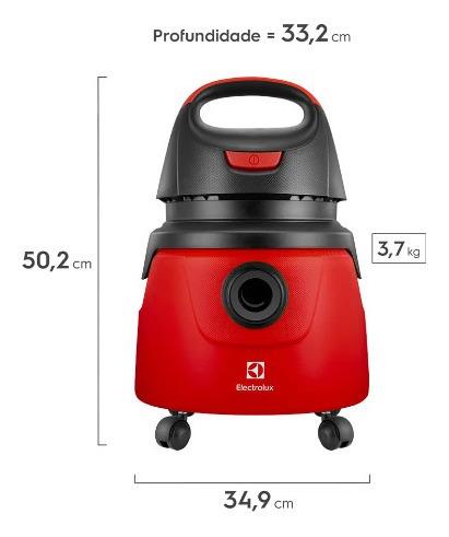 aspirador de água e pó electrolux gt 2000/ pro
