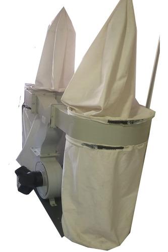 aspirador de particula gruesa 3 hp 3 salidas 2 bolsas