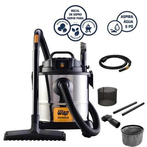 aspirador de pó e água fw005405 gtw inox 20 wap