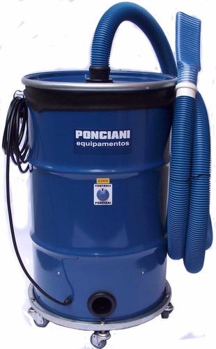 aspirador de pó profissional 4 motores, 4800 watts ponciani