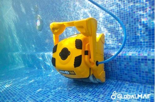 aspirador filtro limpador automático profissional piscina