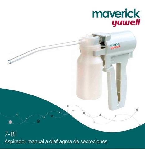 aspirador maverick de secreciones manual 7b-1