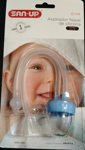 aspirador nasal bebes niños san up - art. 3278