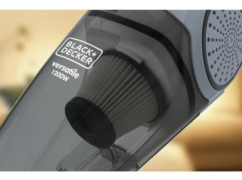 aspirador pó 1200w ciclônico 2 em 1 black+decker 220v av12