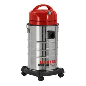 Aspirador Schulz Elektro 1400w 20l Aço Inoxidável, Vermelho E Preto 110v