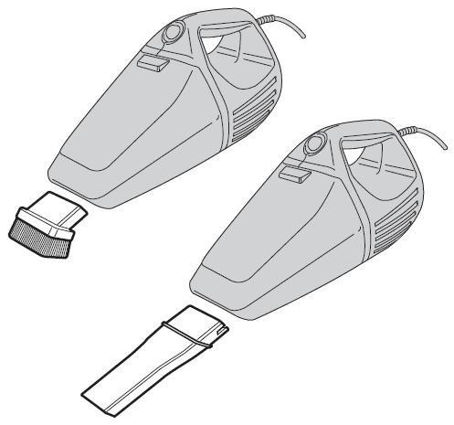 aspirador soprador de pó portátil 750w black & decker vh800