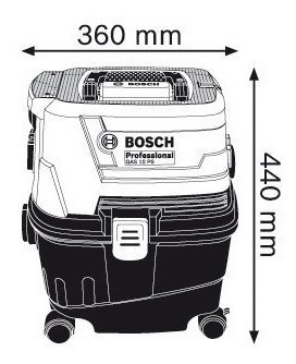 aspirador universal bosch gas 15 ps 220v maquifer