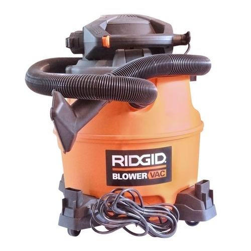 aspiradora 16gl mojado/seco marca ridgid
