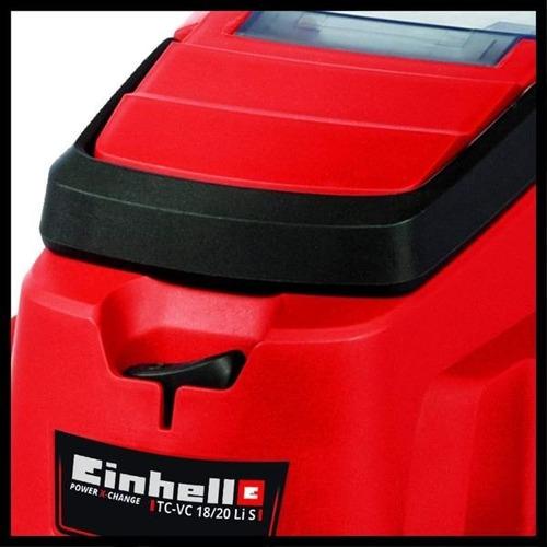 aspiradora a bateria 18 v /20lts einhell + bateria 2.5a+carg