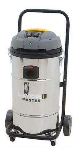 aspiradora agua y polvo 2800w 65lts lavor master g p
