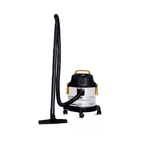 aspiradora aspira polvo y liquido 15lts 1200w acero pintumm