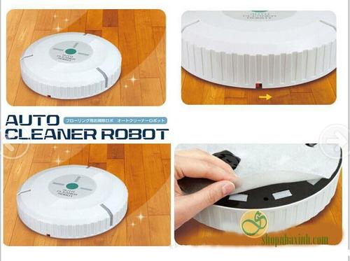 aspiradora automatica robotica inteligente 20 paños limpieza