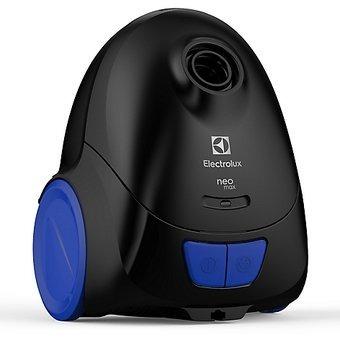 aspiradora de bolsa electrolux neo31 negra 1200w.