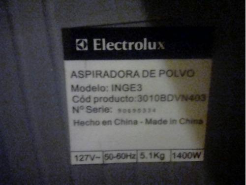 aspiradora de polvo ing3 elextrolux barata nueva