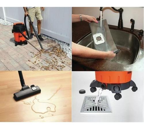 aspiradora de polvo y agua black decker 1200w 10lts bdwd10