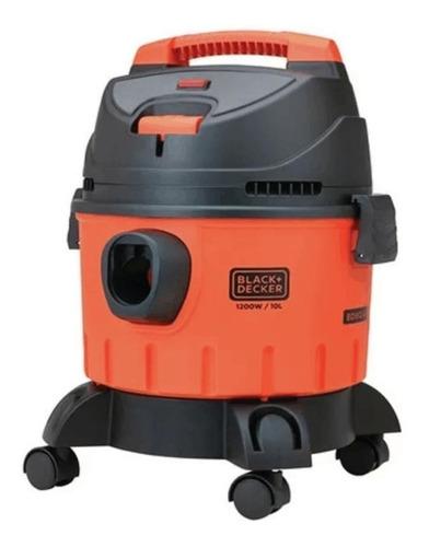 aspiradora de polvo y líquido 10 litros 1200w black+decker