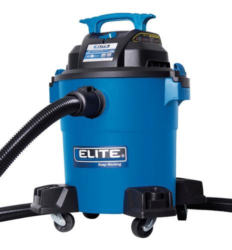 aspiradora elite vc0640p, 6 gal, 4 hp. para húmedo y seco