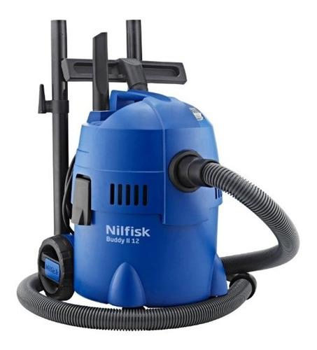 aspiradora en seco y húmedo nilfisk buddy ii 12 eu 12 litros