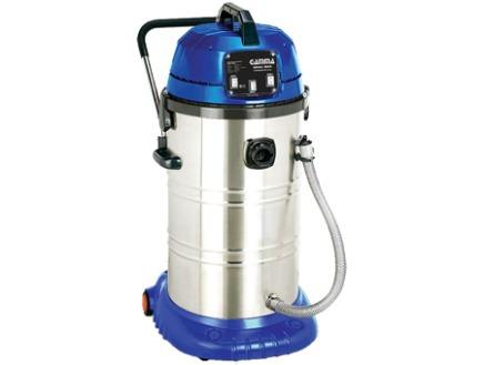 aspiradora gamma inox 60lts polvo/liquido 2000w-accesorios