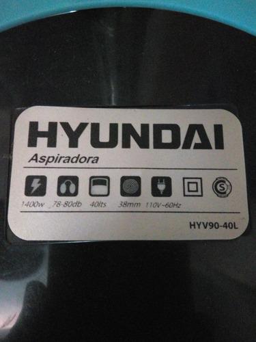 aspiradora hyundai de 40 ltrs