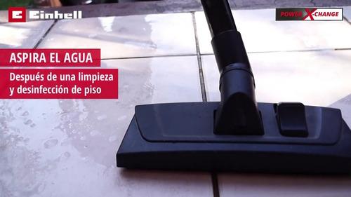 aspiradora inalambrica agua polvo einhell tcvc18/20 36 v