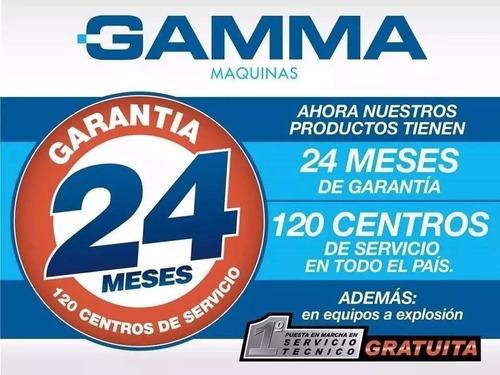 aspiradora industrial 1000w 80 litros con 2 motores gamma