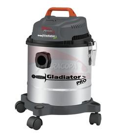 Aspiradora Industrial 15lts Agua / Polvo Inox Gladiator A815