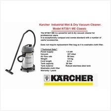 aspiradora industrial 1600 watts potencia 110v karcher nt38