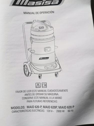 aspiradora industrial maíd 620 plus