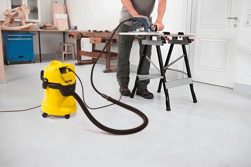 aspiradora karcher wd3 p agua y polvo